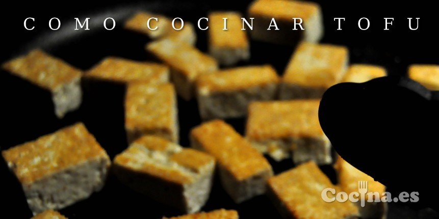 cocinar tofu