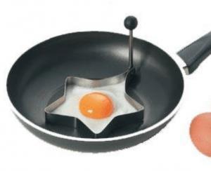 Molde para huevos con forma de estrella