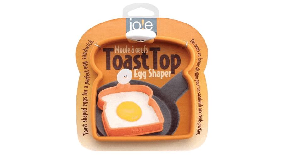 Molde para huevos con forma de tostada