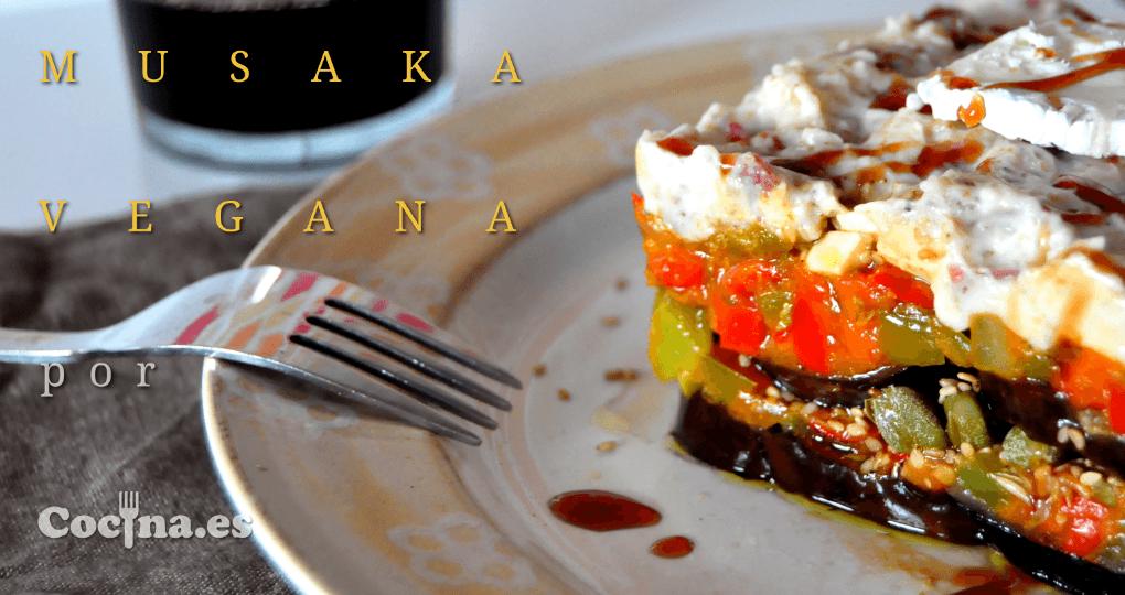 Musaka vegana