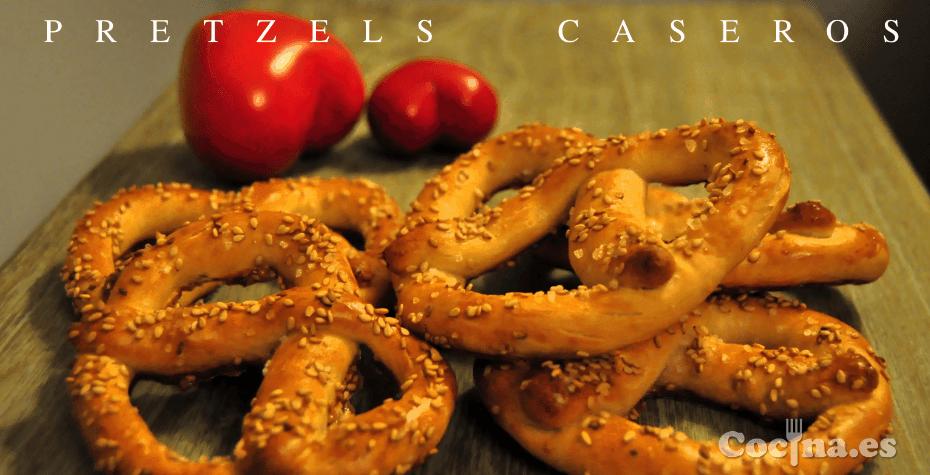 pretzels caseros