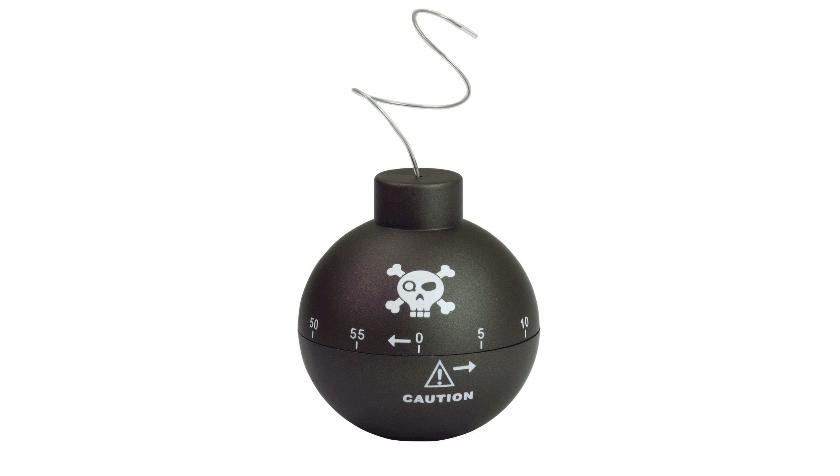 Temporizador de cocina bomba