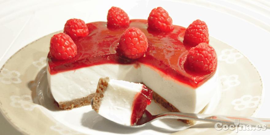 Receta tarta de queso f cil y r pida - Cocina rapida y facil ...