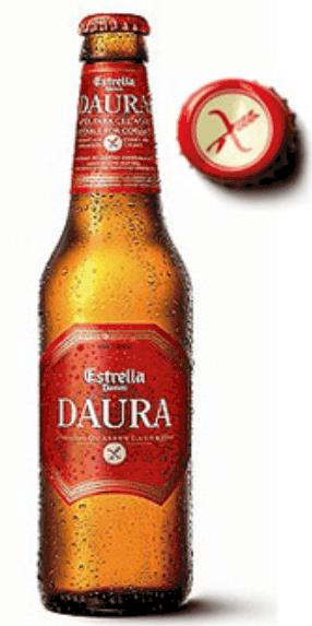 Cerveza sin gluten Daura Damm