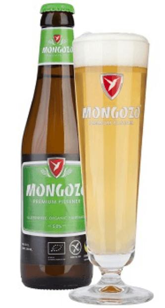 Cerveza sin gluten Mongozo