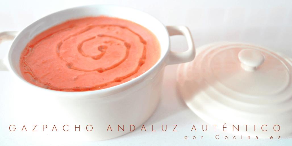 Gazpacho andaluz auténtico