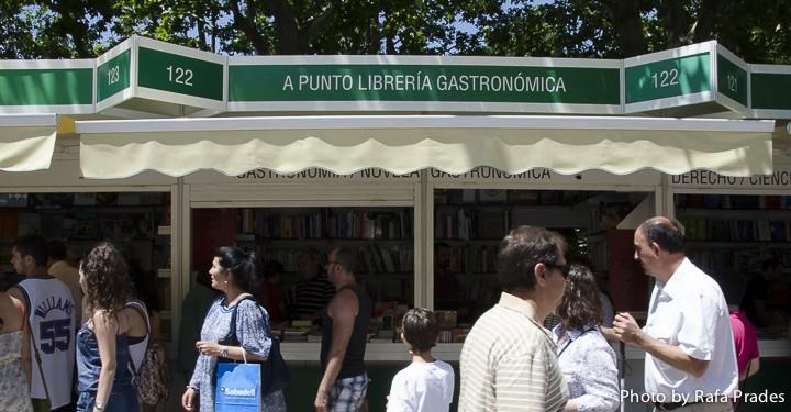 A Punto Librería Gastronómica - Feria del Libro de Madrid