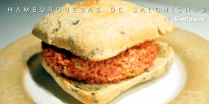 hamburguesas de salchichas