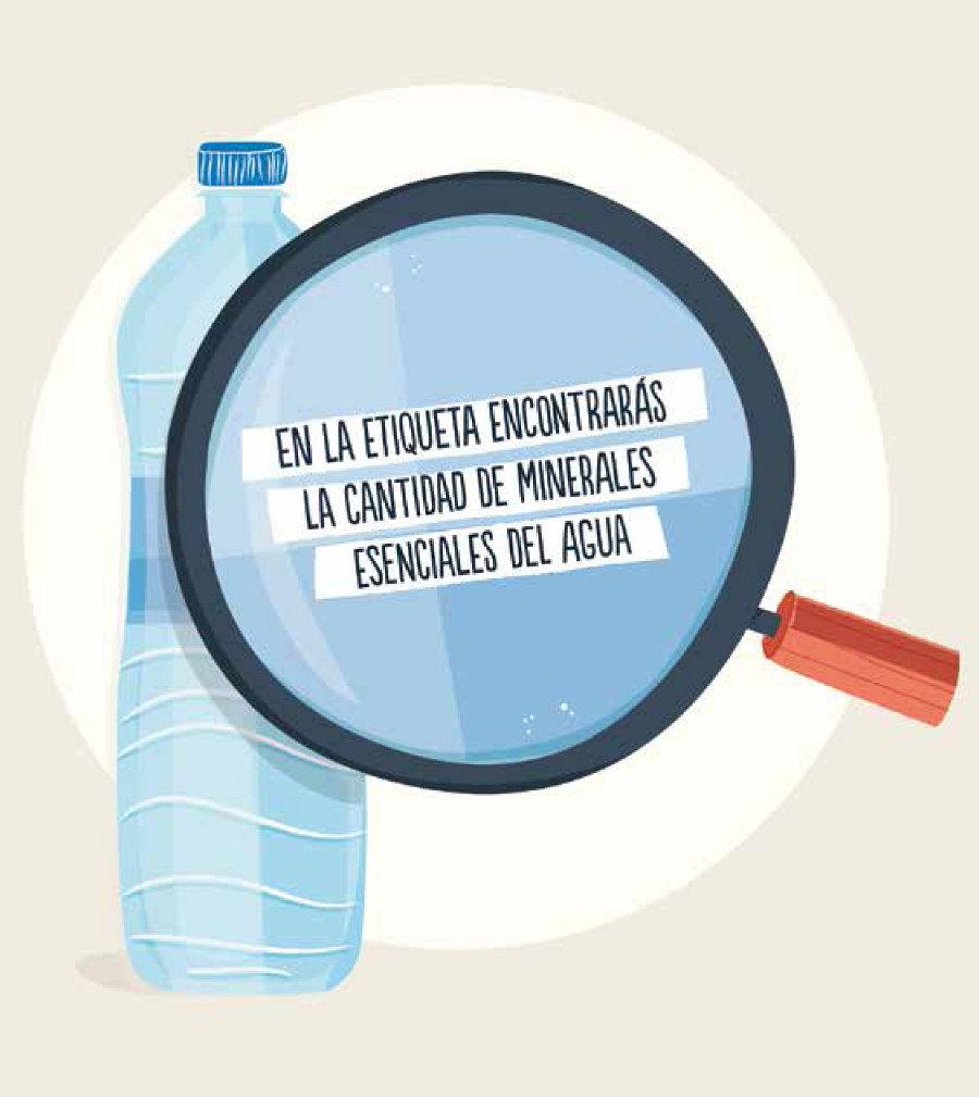 Información etiquetas agua mineral