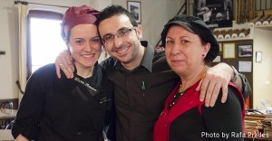 María, José y Encarna - Restaurante La Farola