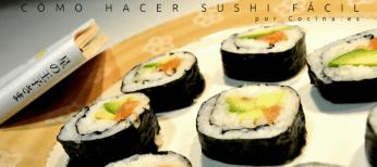 Sushi fácil - Maki roll
