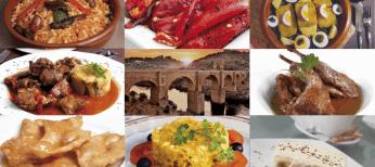 Alcantara: puente y gastronomía