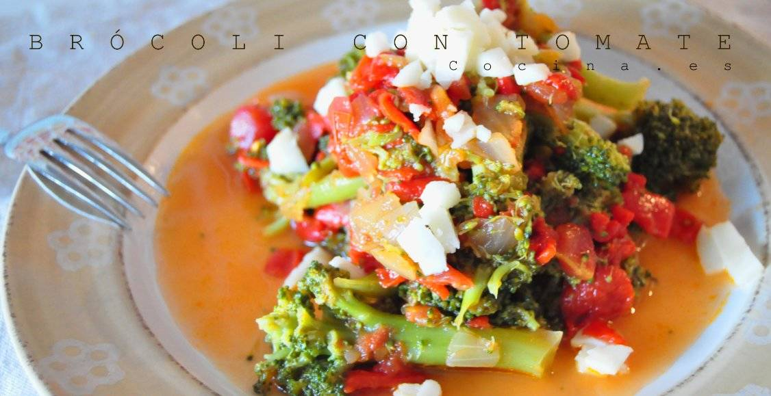 Brócoli con tomate