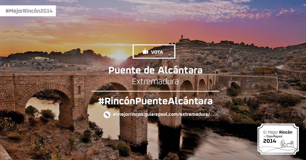 Votar al Puente de Alcantara como Mejor Rincón 2014