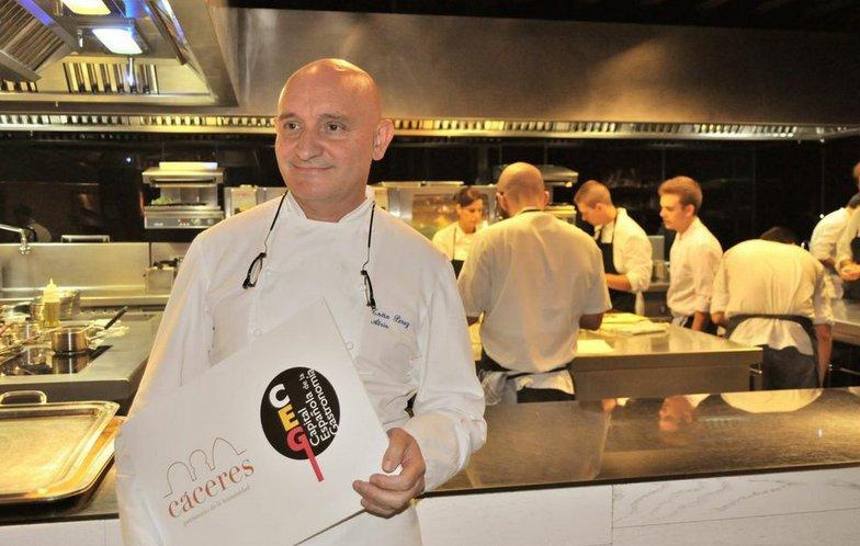 Toño Pérez, del Restaurante Atrio de Cáceres