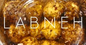 Labneh casero en aceite de oliva
