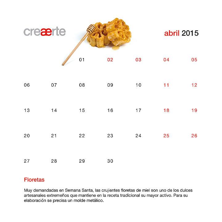 Calendario Abril 2015