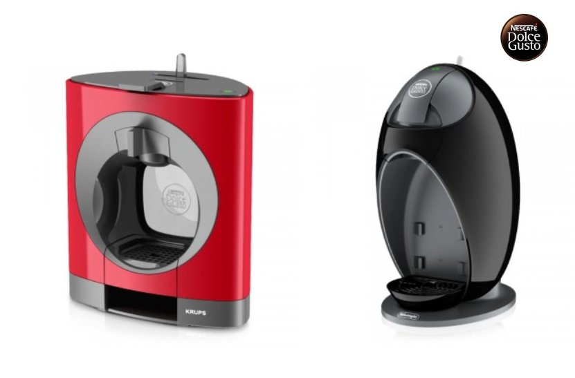 Dolce Gusto Obla roja y Dolce Gusto Jovia negra