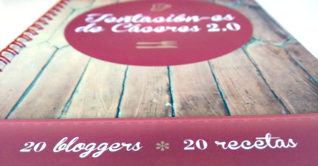 """Recetario """"Tentación-es de Cáceres 2.0. 20 bloggers - 20 recetas"""""""