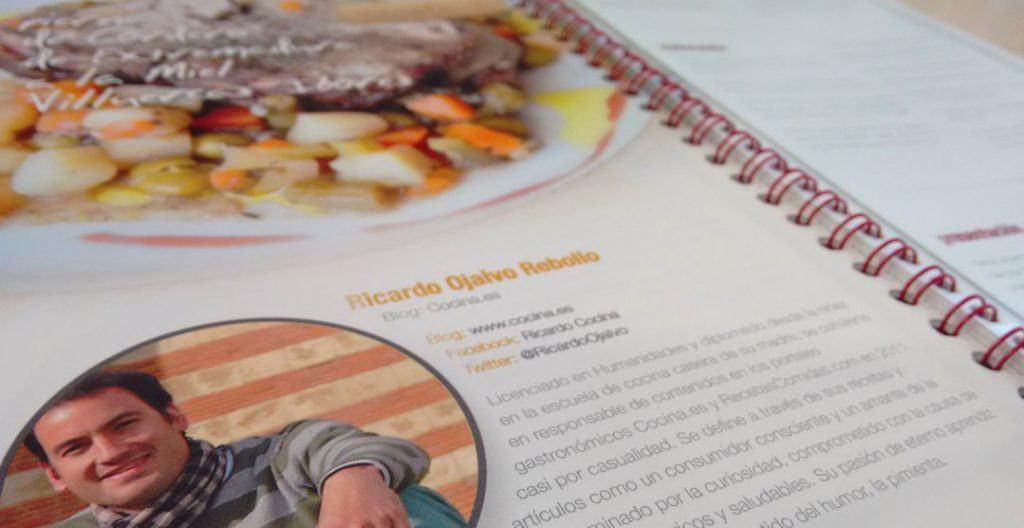 """Mi receta de """"Pierna de cordero de Extremadura a la miel Villuercas-Ibores"""" en el recetario """"Tentación-es de Cáceres 2.0""""."""