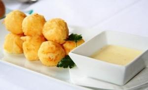 Albóndigas de queso y nueces
