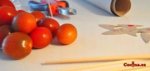 como-hacer-corazones-con-tomate-cherry-material