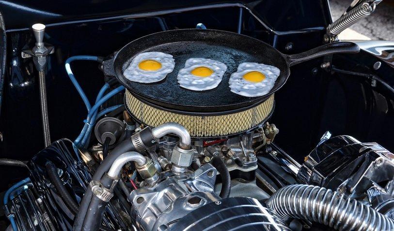 Lo mires por donde lo mires... ¡tiene huevos! / Foto:  Chad Horwedel