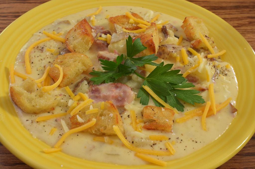 Patatas con nata