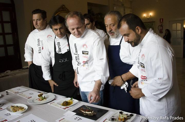 """Jurado del concurso de tapas """"Córdoba Califato Gourmet""""."""