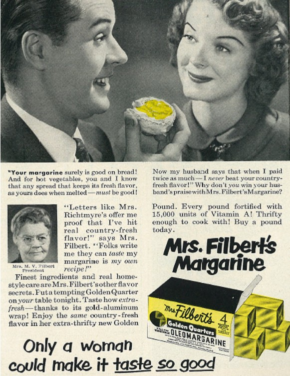 Margarina - Grasas trans