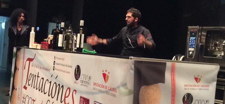 Carlos Media, cocina en vivo en Tentación-es 2015