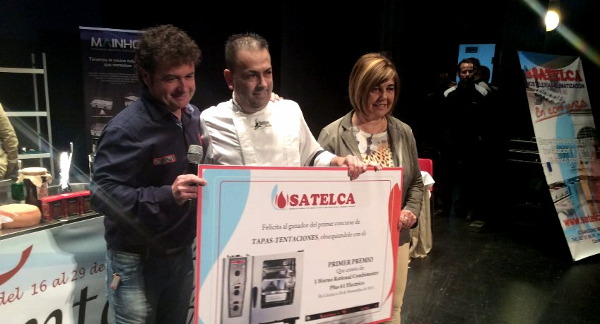 Ganadores del concurso de tapas de Tentación-es 2015.