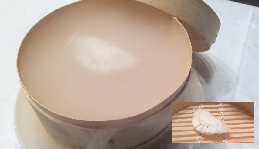 Dumplings de Queso Ibores y Miel Villuercas Ibores.