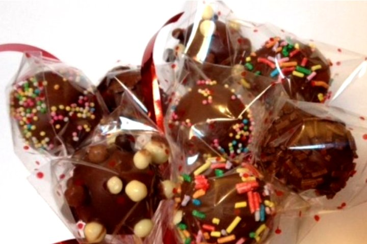 cake pops de bizcocho