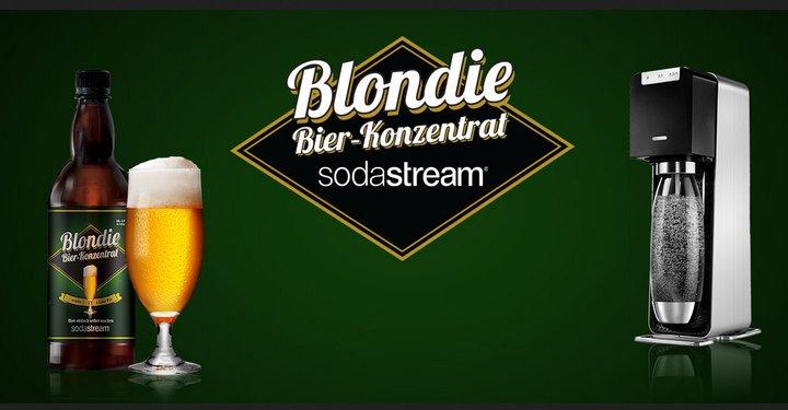 Sodastream para hacer cerveza casera Blondie