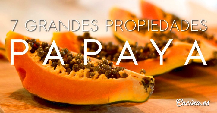 Papaya: propiedades