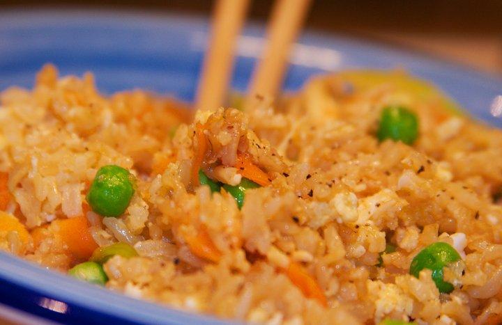 Recetas de comida china: arroz tres delicias