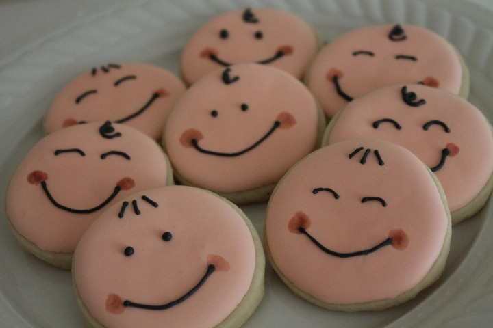 baby shower cookies caritas