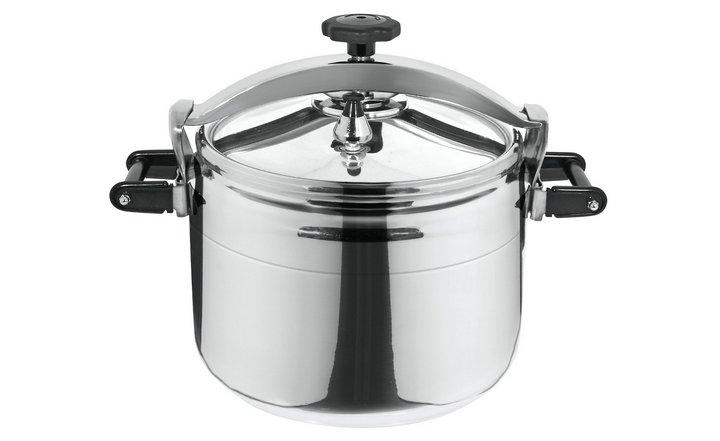 Olla express de aluminio Magefesa Chef