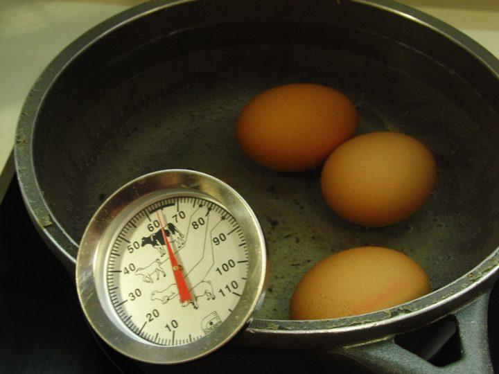 tiempo de coccion del huevo duro