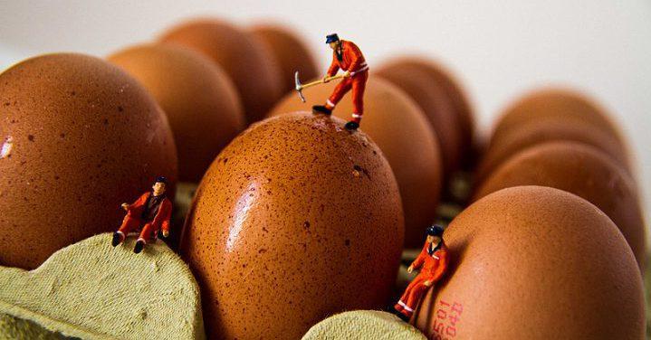 como cocer huevos