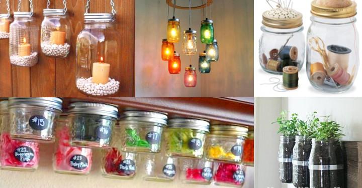 Ideas para reciclar frascos de vidrio