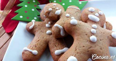 Galletas de Jengibre y canela - Galletas de Navidad