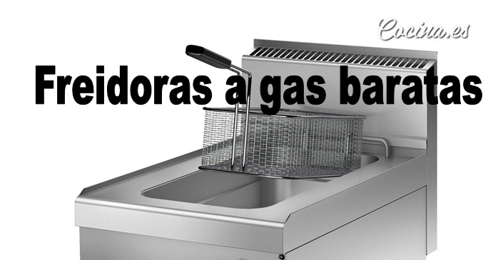 Freidoras de gas baratas - Cocinas de gas baratas ...