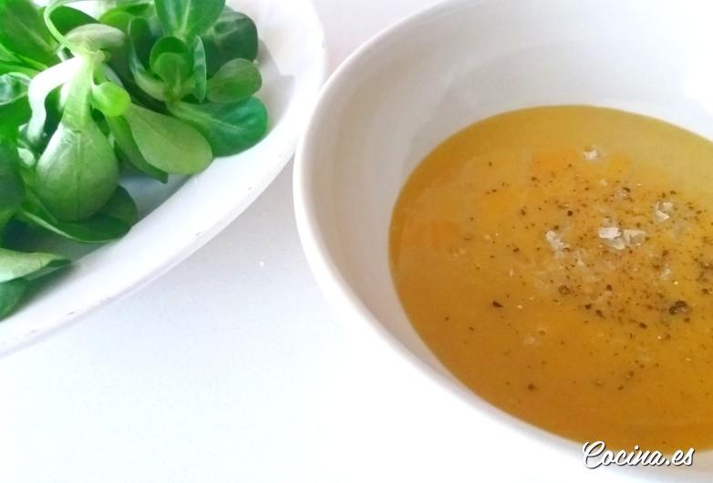 Vinagretas para ensaladas: vinagreta de miel y mostaza