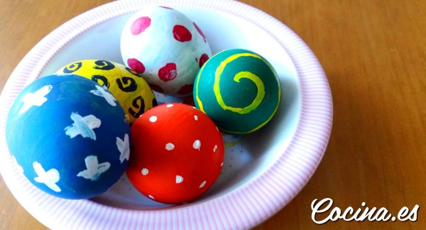 Huevos para roscas de Pascua