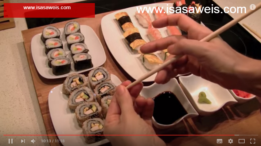 sushi estilo japones
