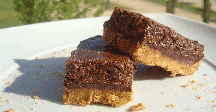 Tarta sin horno de Mousse de Chocolate