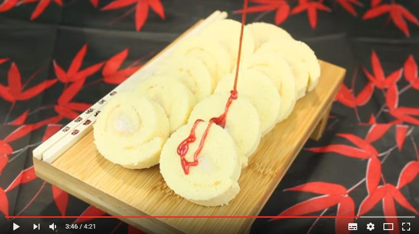 rollito de banana
