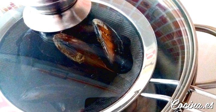 Trucos para cocer Mejillones - Mejillones al Vapor